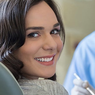 Patient smiling after a dental bonding at Family Dentistry in Brentwood TN