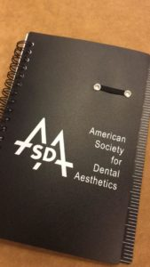 A notebook from the ASDA Meeting in Austin, TX