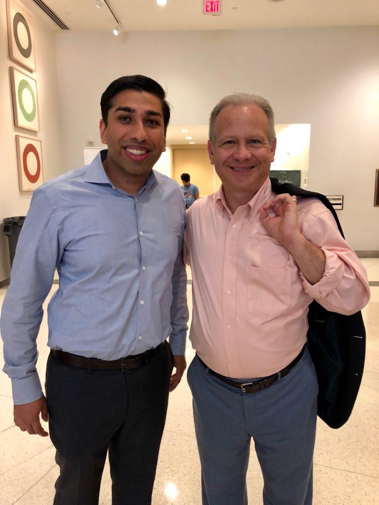 Mayor David Briley and Dr. Patel